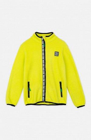 Куртка трикотажная для мальчиков светло-зеленый