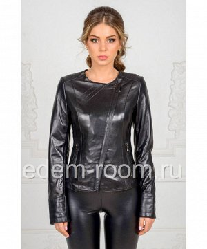 Кожаная куртка для весныАртикул: LN-310-CH