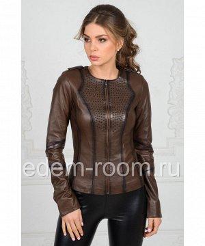 Женская куртка из турецкой кожиАртикул: FL-1206-K