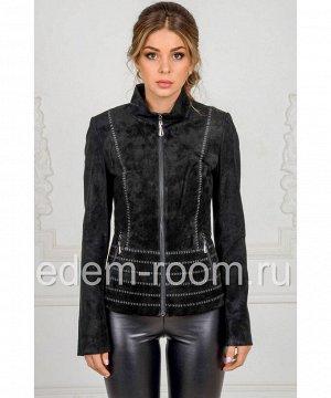Женская куртка из натуральной замшиАртикул: N-1728-Z
