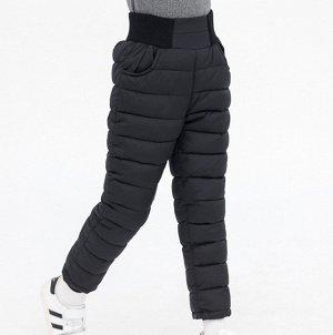Утепленные штаны. ЦВЕТ ЧЕРНЫЙ