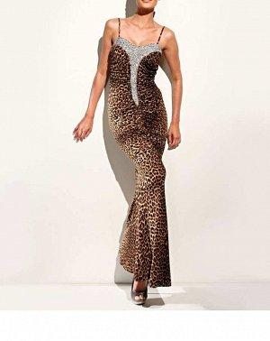 Платье, коричневое