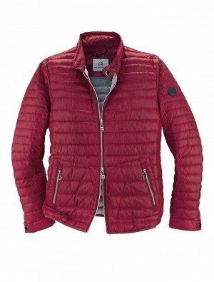 Куртка мужская пуховая, красная
