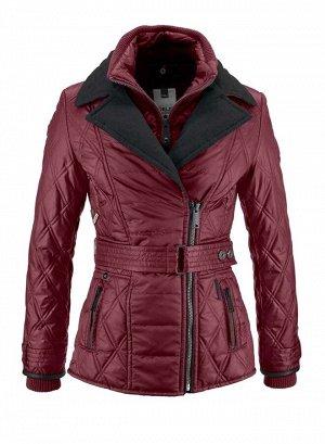 Куртка, бордовая
