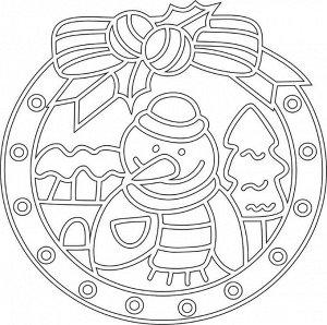 """Трафарет """"Мандала №12"""" арт.692"""