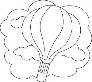"""Трафарет с магнитом """"Воздушный шар"""" арт.911"""