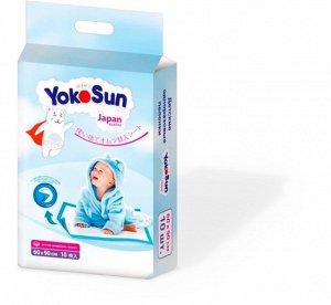 YokoSun Детские одноразовые пеленки 60*90 10 шт. 7288 (1/8)
