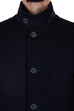 Пальто Сезон:демисезонные Посадка:полуприталенная Модель:М14 Цвет:синий Фактура:узор Комплектация:пальто, вешалка Состав:шерсть-75%, вискоза-15%, полиэстер-10%