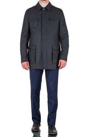 Пальто Сезон:демисезонные Посадка:полуприталенная Модель:М11 Цвет:серый Фактура:узор Комплектация:пальто, вешалка Состав:шерсть-75%, вискоза-15%, полиэстер-10%