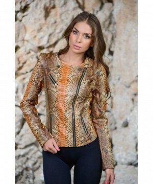 Стильная куртка под питонаАртикул: 120414034