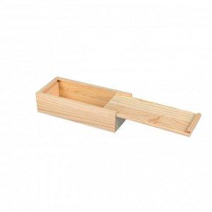 Деревянная заготовка Купюрница 4,5*8*17,5см