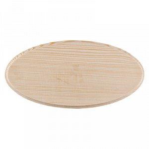 Деревянная заготовка Панно Овал 24,5*12см