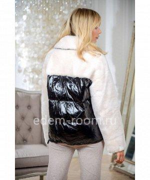 Куртка - пуховик из шерсти Артикул: N-18303-65-BR