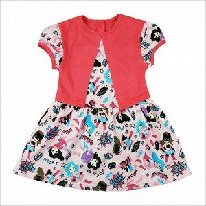 Платье 7104/2 (девочка кошка)