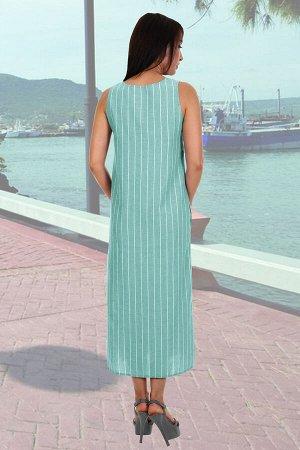Сарафан Бренд: Натали Ткань: лен Состав: 70% лен, 30% хлопок Легкий летний сарафан из льняной ткани