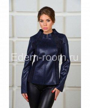 Куртка синяя  для женщинАртикул: F-2374-S