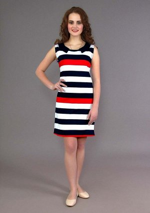 Платье Лия (Красная полоса)