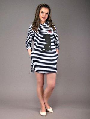 Платье Эмма (полоса)