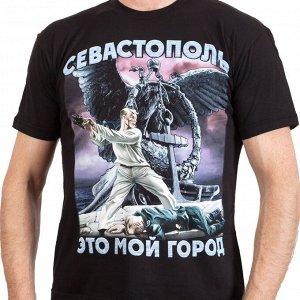 Патриотическая футболка «Третья оборона Севастополя» №84