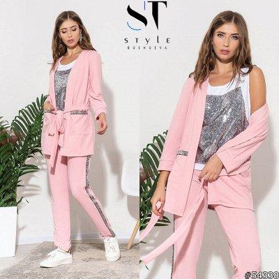 SТ-Style*⭐️Летняя коллекция! Обновлённая! — Брючные костюмы и комплекты — Костюмы с брюками