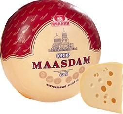 Сыр Маасдам 45% (Ичалки)