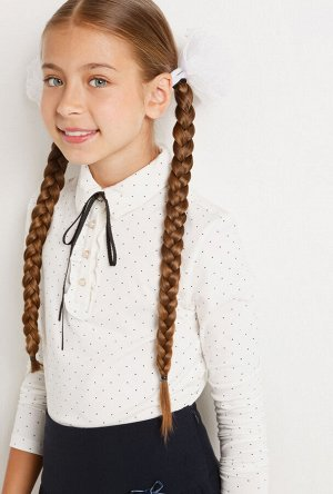 Блузка детская для девочек Syleman молочный