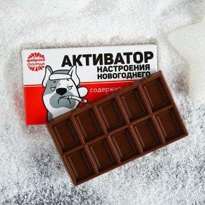 Шоколад молочный «Активатор настроения»: 27 г