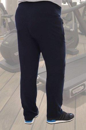 Брюки 3405 72% хлопок, 20% п/э, 8% лайкра Брюки мужские классические на резинке, ткань 2-х ниткапенье компакт,карманы аккуратного дизайна на молнии с брелоком, декоративная плащевка Футер с лайкрой