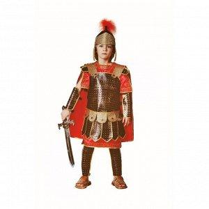 Детский карнавальный костюм «Римский воин», текстиль, размер 38, рост 152 см