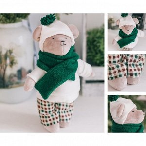 Мягкая игрушка «Мишка Марли», набор для шитья, 22.4 ? 5.2 ? 15.6 см