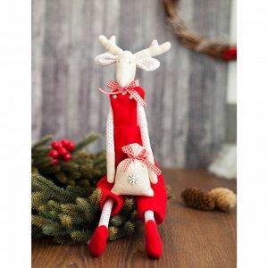 Мягкая игрушка «Домашний олень Кевин». набор для шитья,
