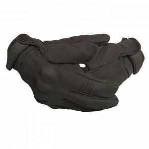 Перчатки Тактические перчатки на утеплителе – выносливый неопрен, термопластичный каучук, защитные костяшки №51