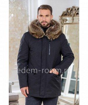 Зимняя куртка из тканиАртикул: C-1813-2-80-CH-EN