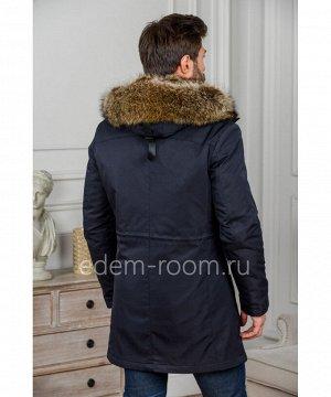 Мужская куртка- парка с мехомАртикул: IG-006-2-SN-EN