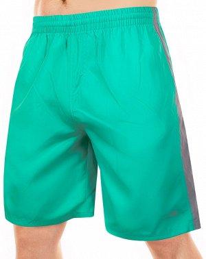 Умопомрачительные шорты пляжные для стильных парней от MACE (Канада), зелёно-серые  №ш264 ОСТАТКИ СЛАДКИ!!!!