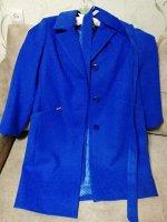 Пальто 18920  (синий)
