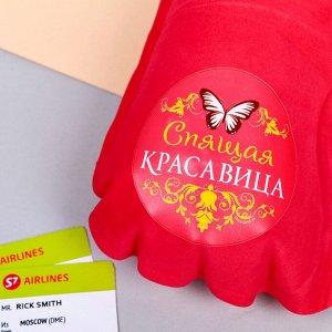 Подушка надувная «Спящая красавица» 40 х 26,5 см