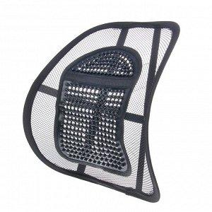 Ортопедическая спинка на сиденье 38x39 см с вертикальным массажером
