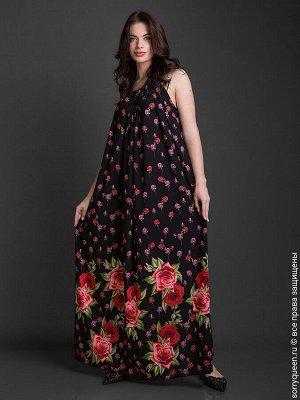 Платье Восхитительное платье с уникальными принтами из плотного шелка армани нового поколения. Платье отлично подходит как для жаркой летней погоды, так и для романтического вечера. Кулиска позволяет