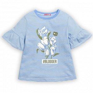 """GFT3111 джемпер (модель """"футболка"""") для девочек"""