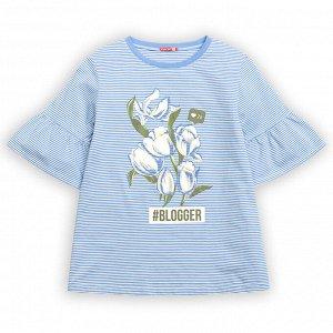 """GFT4111 джемпер (модель """"футболка"""") для девочек"""