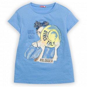 """GFT4111/2 джемпер (модель """"футболка"""") для девочек"""