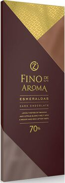 «OZera», горький шоколад Esmeraldas, 90г