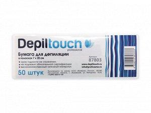 Бумага для депиляции DepilTouch, 7*20 см, 50 штук/упаковка, Италия 87803