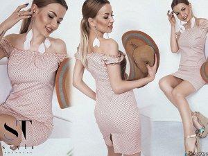 Силуэтное платье 34724