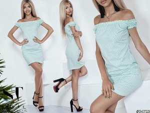 Силуэтное платье 34723