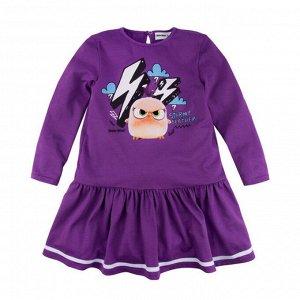 """128АБ-161 Платье для девочки """"Angry Birds"""""""