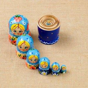 """Матрёшка """"Букет"""", 7 кукольная, 16х7 см"""