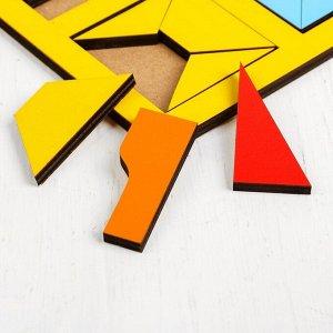 «Сложи квадрат» Б. П. Никитин, 2 уровень (макси), МИКС