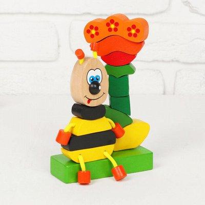 Деревянные игрушки - подарок природы детям!  — Пирамидки — Деревянные игрушки